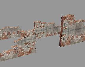3D asset Crash wall