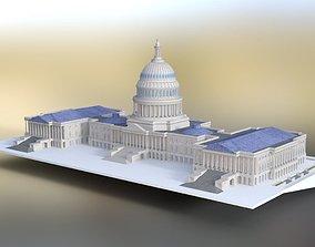 3D model US Capitol for DAZ Studio