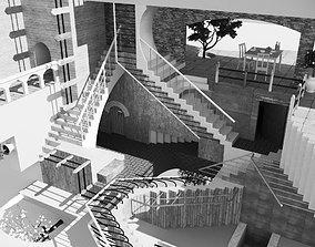 Relativity MC Escher 3D