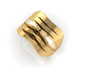 3D printable model ring F 461