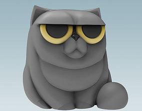 Grumpy Cat - Pen Holder 3D print model