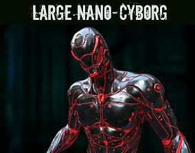 Large Nano-Cyborg 3D asset