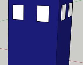 3D print model Doctor Who Tardis