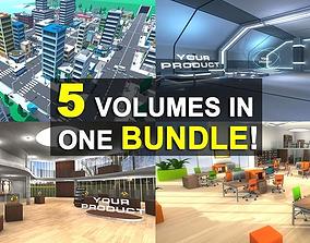 3D Package Bundle 01 realtime
