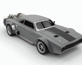 Ice Charger from Fast 8 movie 3D