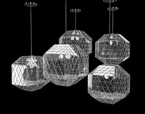 3D Glass Pendant Lamps