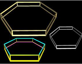 3D model Hexagon Wire