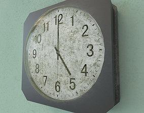 vieux old clock 3D model
