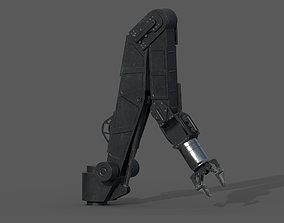 ROV arm - PBR - rigged 3D asset