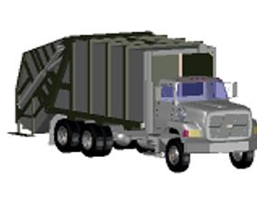 Recolector de basura 3D