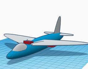 Jet Aircraft 3D Model