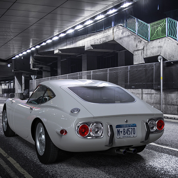 Toyota GT2000 1967-1970