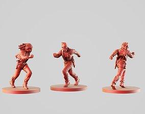 3D printable model Zombie Runner