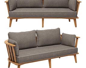 3D NOUMEA Garden sofa