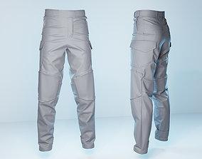 Semi Tactical Pants 3D