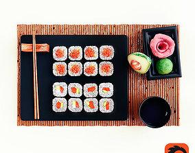 maki Sushi 3D model