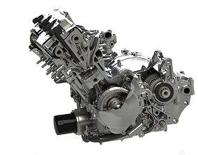 3D Honda CBR600 engine gear