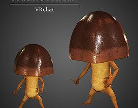 Mushroom Warrior 3D asset