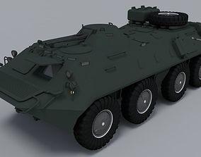 3D model BTR-80