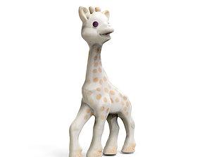 3D printable model Sophie The Giraffe