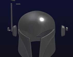 Sabine Wren Style Helmet with Range finder 3D print model