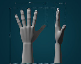 Hand Model touch