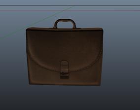 Briefcase 3D asset