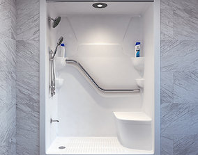 contemporary 3D Shower Cabin