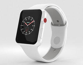 3D model Apple Watch Edition 3 42mm GPS White Ceramic 2