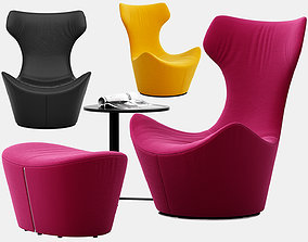 3D model Grande Papilio armchair