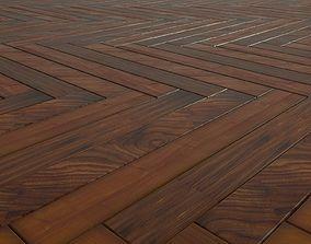 3D model floorboards Parquet - Antique oak