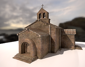 Ruined church 3D model