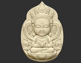 3D printable model Baby Bodhisattva