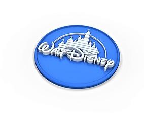 3D printable Walt Disney logo