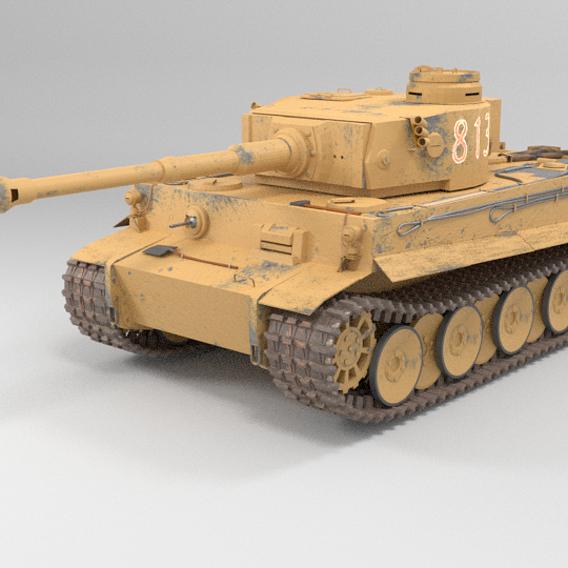 tank tiger 501