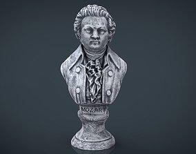 3D model Mozart Bust