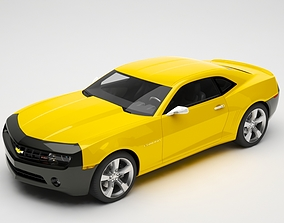 3D sport-car Chevrolet camaro