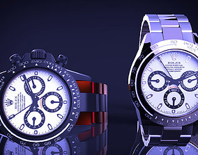 3D clock Rolex Daytona