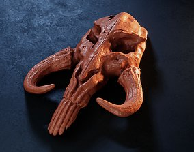3D print model Mythosaur Skull - Inspired by The