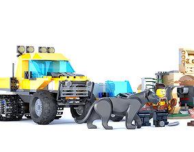 teenage 3D model Childrens lego set
