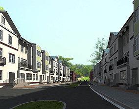 Buildings with Blocks Designs 3D