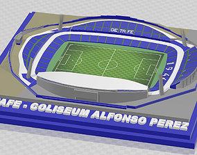 3D print model Getafe CF - Coliseum Alfonso