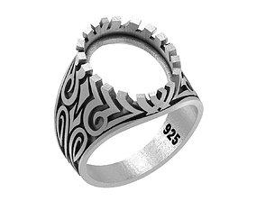 MAN RING 026 3D print model