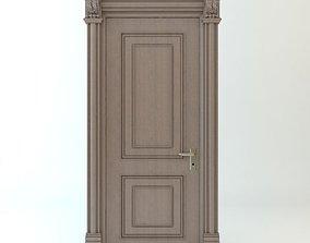 3D model vray Wooden Door