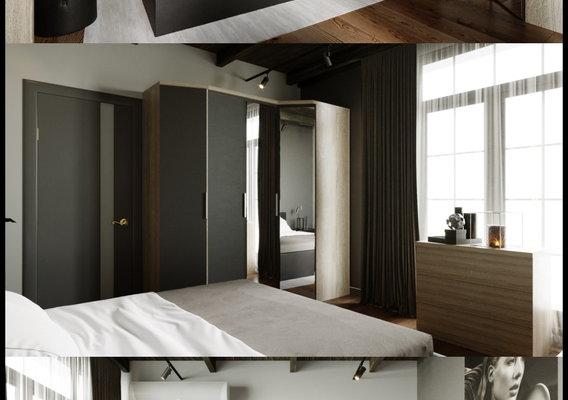 "Bedroom,  bed model ""Stella"""