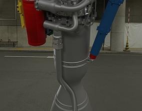 3D model Rutherford Rocket Engine