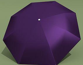 Purple Umbrella 3D model