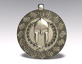 3D printable model Ancient greek pendant