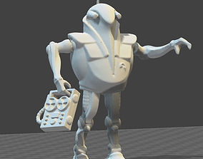 Atlantic DYNATLON robot figure 3D printable model