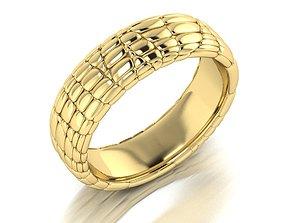 Ring Skin leather 3D print model